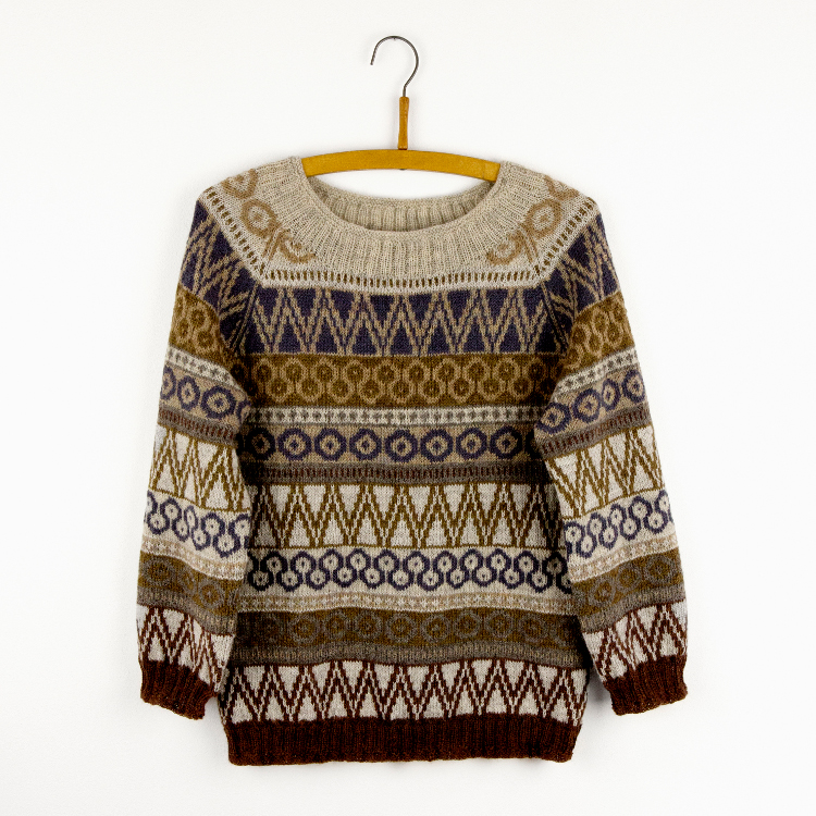 Hønsestrik inspiration sweater