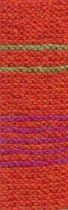 22 - Dark orange 11 / Cerise 59 / Green pea 22