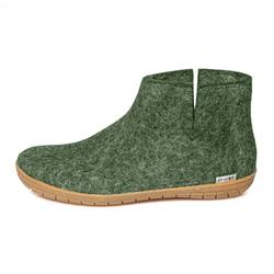 Glerups - ankle shoe with rubber soles - forest