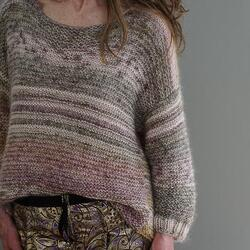 Gepard Skov og Strand Sweater - KIT