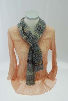 Shawl for all seasons - in Danish