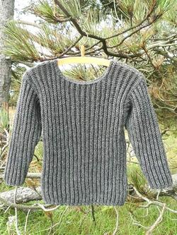 Children's sweater - in Danish