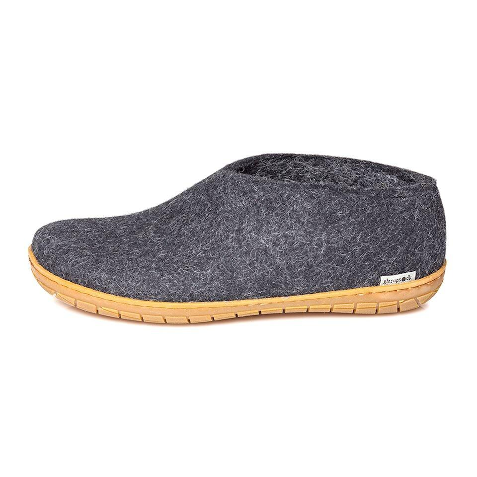 bac4d308b2b Uldstedet: Glerups sko gummisål koksgrå