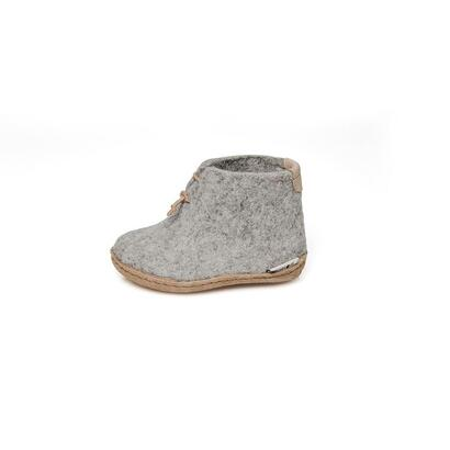 Glerups - children's boot - light grey