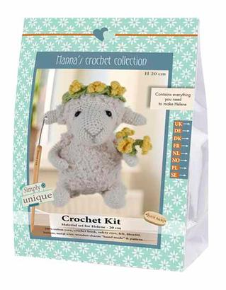 Go Handmade Hækle Kit - Sheep Helene