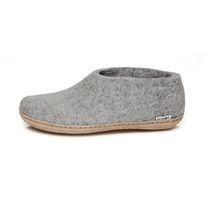 Glerups - felt shoes - light grey