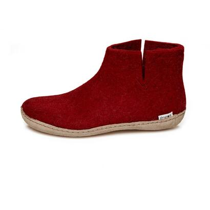 Glerups - ankle shoe - red