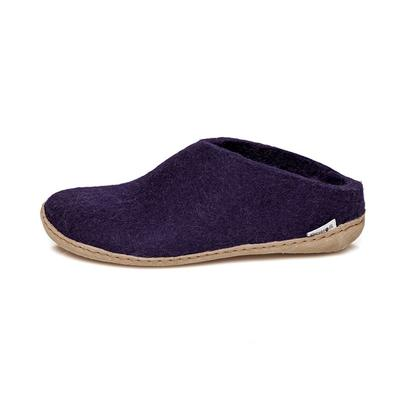 Glerups - felt slipper - purple