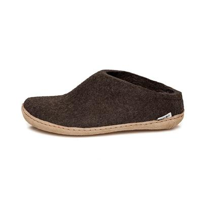 Glerups felt slipper - brown