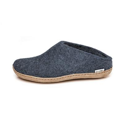 Glerups - felt slipper - denim