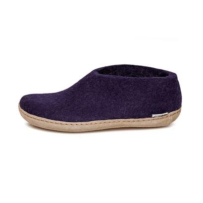 Glerups felt shoes - purple
