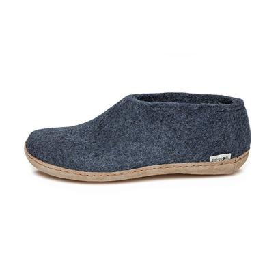 Glerups felt shoes - denim