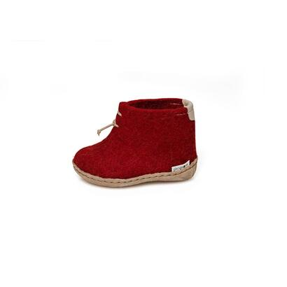 Glerups - children's boot - red