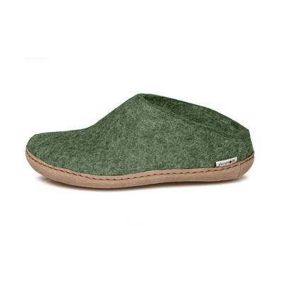 Glerups felt slipper - forest