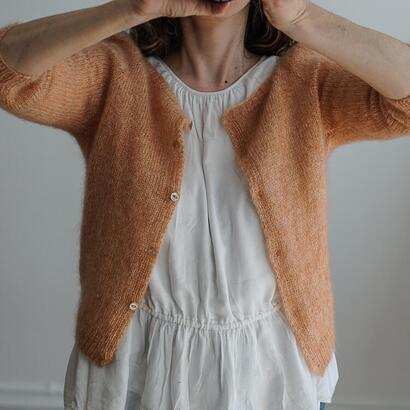 Refined Knitwear Casia Cardigan Mohair Only KIT