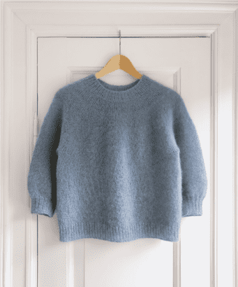 PetiteKnit: Novice Sweater - Mohair Edition