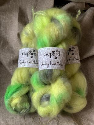 Gepard Chunky Knit Mohair - Handdyed by Sus Gepard