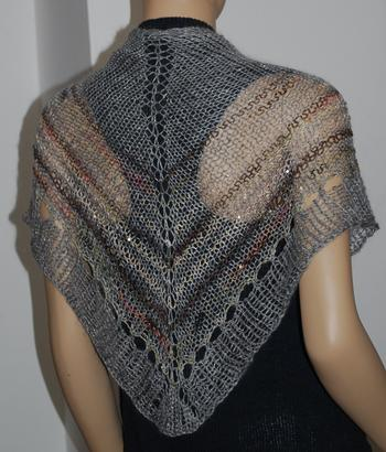 Every Which Way Shawl - in Danish