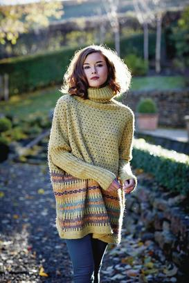 Franziska - Felted tweed